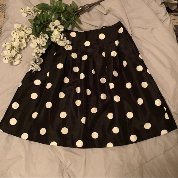 Jessica Howard Dresses & Skirts - Black and white polka dot skirt